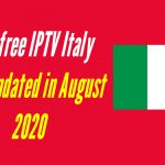 Best free IPTV Italy lists updated in August 2020